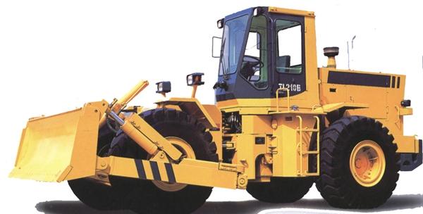 Bulldozer en ruedas