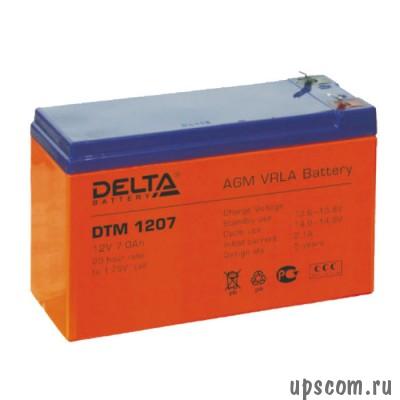 Comprar Baterías Delta DTM 1207