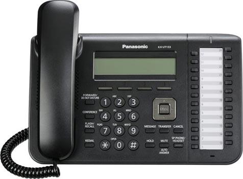 Comprar Teléfono-IP SIP PANASONIC KX-UT133NE