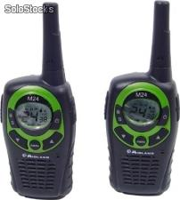 Comprar Transceptor portatil 2 unidades midland m24 pmr446 24 canales