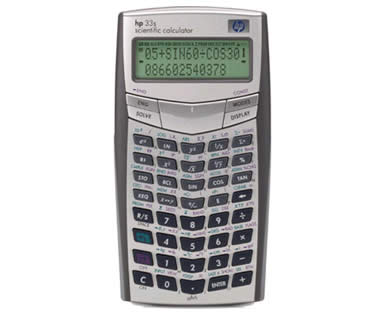 Calculadoras HP 33s SCIENTIFIC
