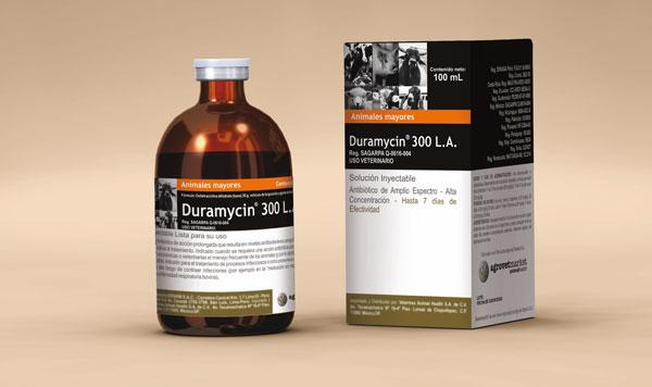 Comprar Antibiótico veterinario Duramycin