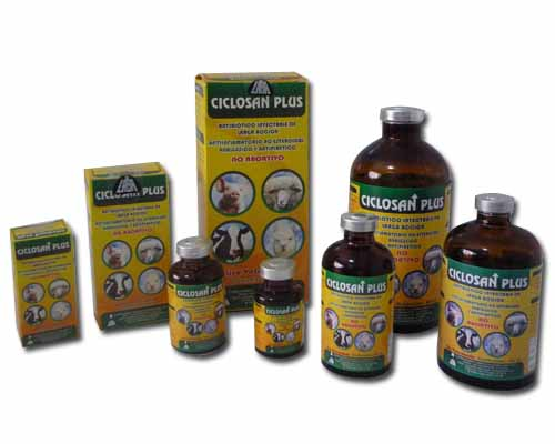 Antibiótico veterinario CICLOSAN PLUS