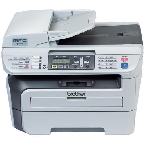 Comprar Brother - Impresora Multifuncional Laser Monocromática MFC-7440N con Fax / Fotocopiadora / Escáner / PC-FAX / Red