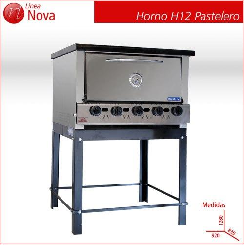 Comprar Horno A Gas Nova H12 Pastelero