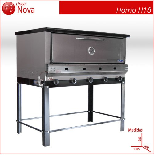 Comprar Horno A Gas Nova H18 Pastelero