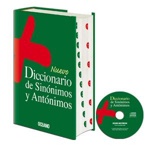 Comprar Nuevo Diccionario Océano de Sinónimos y Antónimos