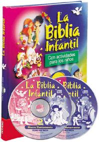 Comprar La Biblia Infantil Con actividades para los niños