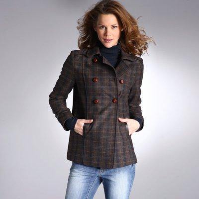 Comprar Chaquetón a cuadros 50% lana