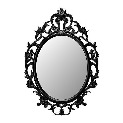 Comprar Espejo, ovalado, negro, Ung Drill