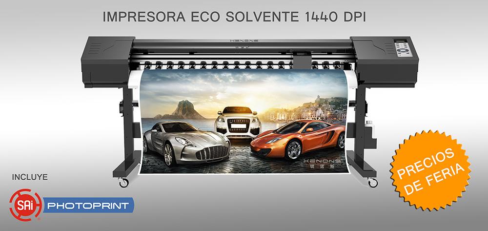 Comprar X2 - Impresion de alta resolucion eco solvente 1440dpi