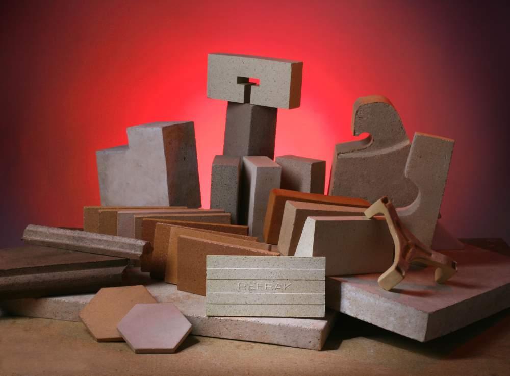 Comprar Ladrillo refractario, concreto refractario, cemento refractario
