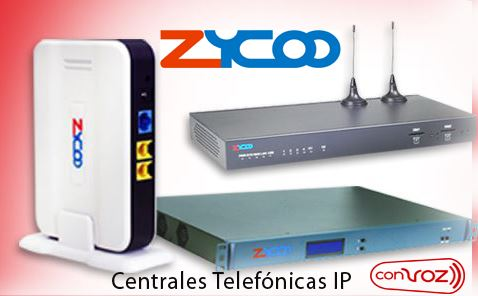 Centrales Telefonicas IP Zycoo