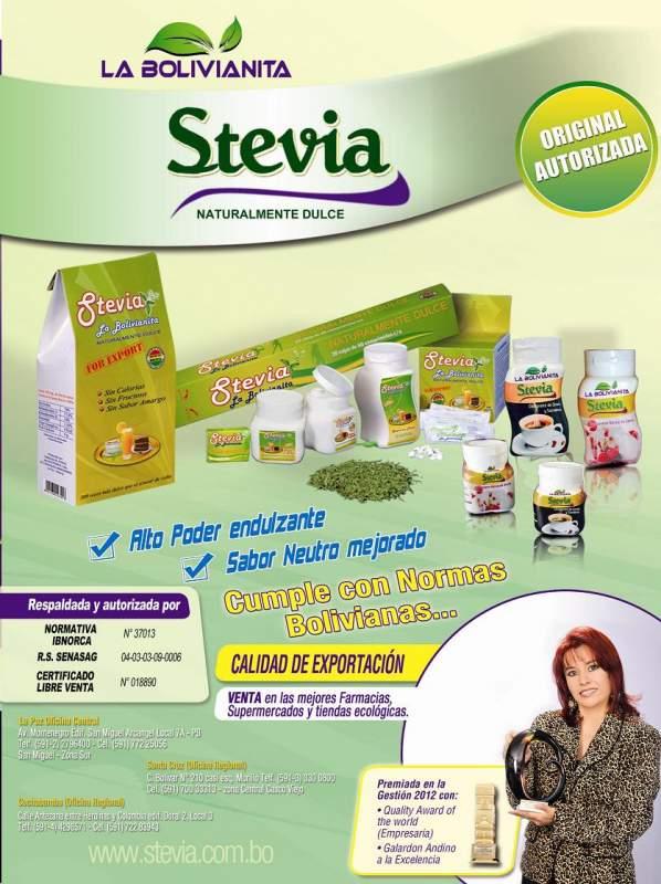 Comprar Stevia La Bolivianita