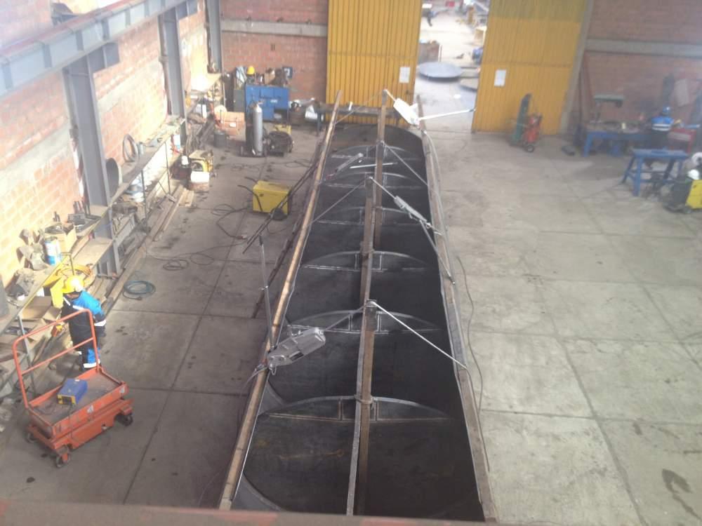 Comprar Tanque atmosférico de acero al carbón