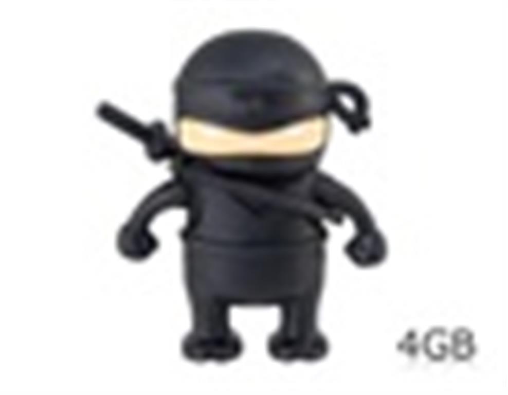 Comprar Flash Drive forma de Ninja USB de 4 GB (Negro)
