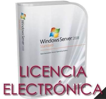 Comprar Microsoft Windows Server 2008 R2 Standard Licencia Genuina