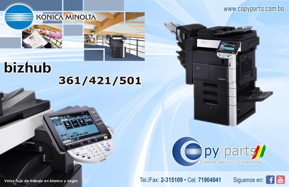 Comprar BIZHUB 361/421/501