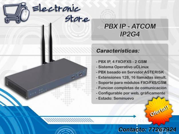 Comprar PBX IP - ATCOM IP2G4
