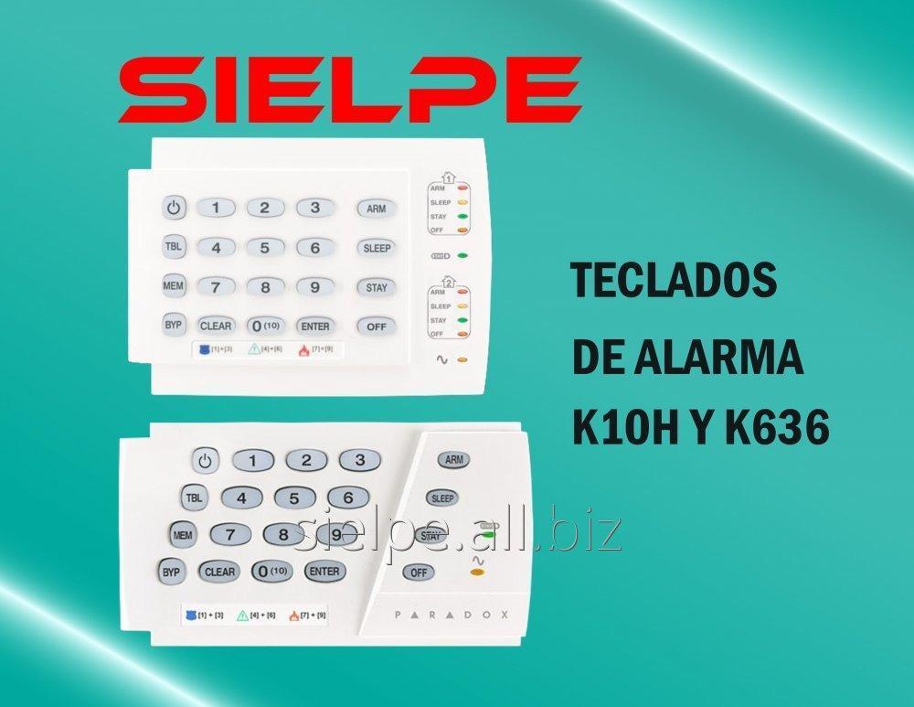 Comprar TECLADOS PARADOX K636 - K10H PARA ALARMA CONTRA ROBO PARADOX