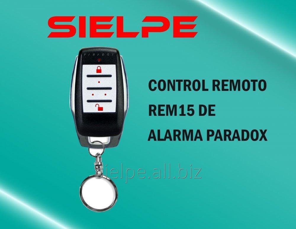Comprar CONTROL REMOTO REM15 DEL PANEL DE ALARMA DE ROBO PARADOX
