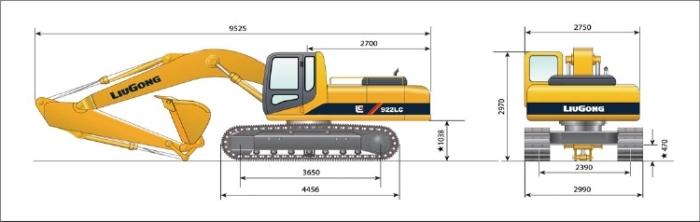 Comprar Excavadora 922LC