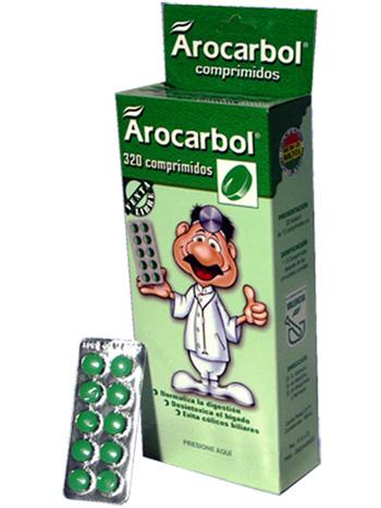 Arocarbol en tabletas