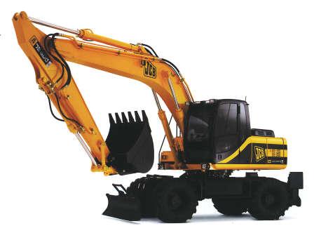 Comprar Excavadora en Ruedas