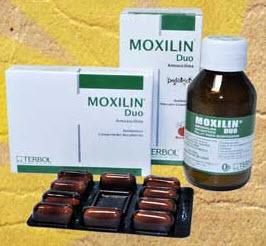 Amoxicilina Moxilin Duo