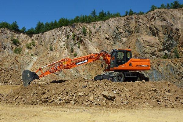 Comprar Excavadoras de Ruedas Doosan