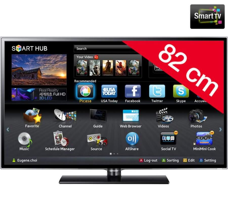 Comprar Televisor Samsung LED Smart TV UE32ES5500