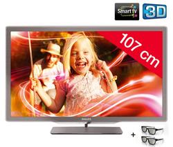 Comprar Televisor Philips LED 3D 42PFL7606H