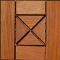 Mosaico de madera Arizona