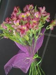 Bouquet Rosas y Astromelias