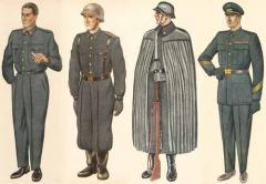 Uniformes del Ejército