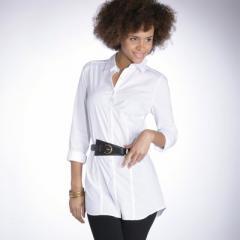 Camisa larga de manga larga