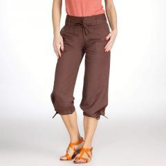 Pantalón pesquero de lino y algodón