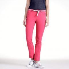 Pantalón tobillero corte slim, entrepierna 70 cm