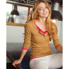 Camiseta tunecina, algodón bio stretch