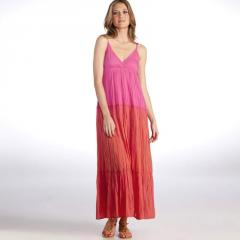 Vestido largo tie and dye