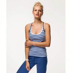 Camiseta sin mangas sujetador-top integrado