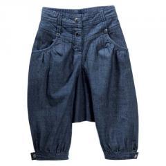 Pantalón árabe denim niña 2 a 14 años
