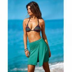 Braguita bikini tipo shorty a rayas