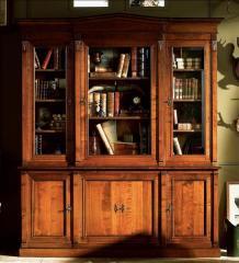 Biblioteca de madera