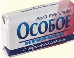 Jabón bacteriano