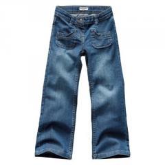 Pantalón bootcut denim constitución fuerte niña 2