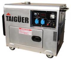 Generadores eléctricos monofisico