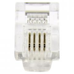Conector  de telefonía RJ11 macho