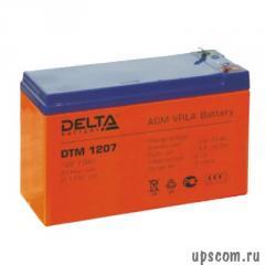 Baterías Delta DTM 1207