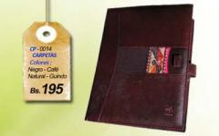 Carpetas de cuero